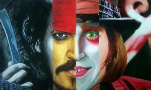 Những tạo hình dị thường của Johnny Depp