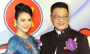 Lý Nhã Kỳ gây chú ý ở hội nghị kim hoàn Thái Lan