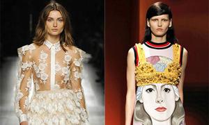 6 kiểu mốt nổi bật tại Tuần thời trang Milan