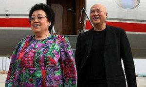 'Đường Tăng' Trì Trọng Thụy vui vẻ bên vợ 72 tuổi