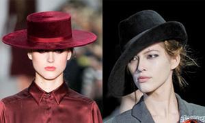 6 kiểu mũ đẹp mùa thu đông