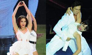 Trần Ly Ly, Hà Hồ đối lập cảm xúc trong bài nhảy