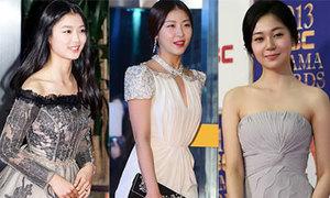 Người đẹp Hàn duyên dáng trên thảm đỏ