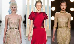 10 bộ váy dự tiệc yêu kiều tại New York Fashion Week