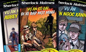 Thám tử Sherlock Holmes 'tái xuất' trong truyện tranh