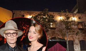 Sao tới tiệc đính hôn của Johnny Depp