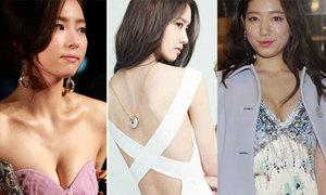 Váy áo gợi cảm của mỹ nhân trẻ xứ Hàn