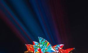 Sydney thành bức tranh biến hình trong lễ hội ánh sáng