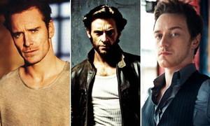 Dàn tài tử quyến rũ của loạt phim 'X-Men'