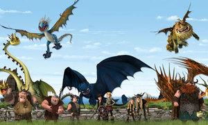 'How to train your dragon' - bộ phim mang tên 'Tình bạn'