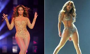 'Cuộc chiến' về những bộ bodysuit giữa Beyonce và Jennifer Lopez