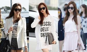 Seo Hyun SNSD với gu mặc đơn giản