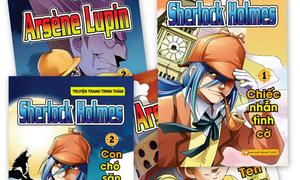 Truyện tranh Sherlock Holmes và Arsène Lupin cùng ra mắt