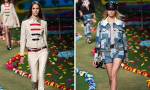 Tommy Hilfiger gợi nhớ thời kỳ nổi loạn của thời trang