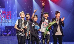 Nhóm FB Boiz đoạt giải Bài hát Việt
