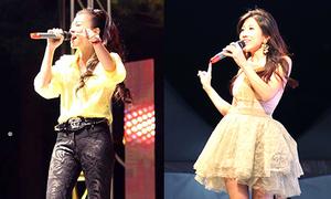 Thu Minh, Trang Pháp hát ủng hộ nạn nhân chìm phà Hàn Quốc