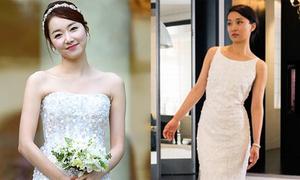 Người đẹp châu Á so vẻ lộng lẫy trong ngày cưới