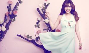 Bích Phương Idol ngọt ngào với váy áo pastel
