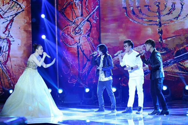 Giang Hồng Ngọc òa khóc khi thành quán quân X-Factor 2014