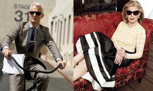 5 nhân vật mặc đẹp trên truyền hình quốc tế