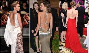 12 khoảnh khắc khoe lưng trần của các người đẹp