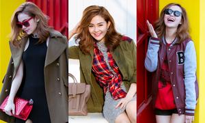 Minh Hằng biến hóa đa phong cách