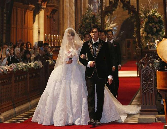 Châu Kiệt Luân tổ chức hôn lễ ở Anh