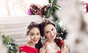 Ngọc Trinh, Linh Chi hóa thành cặp chị em ngọt ngào