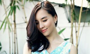 Vẻ đẹp của 'gái hai con' Dương Trương Thiên Lý