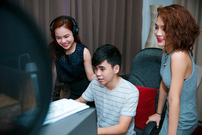 Giang Hồng Ngọc dốc sức cho chung kết The Remix