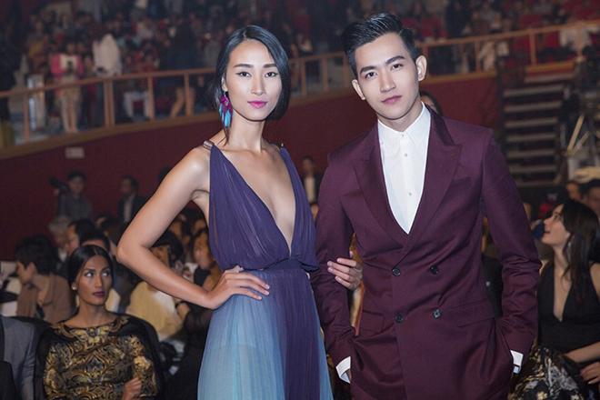 Trang Khiếu, Võ Cảnh nhận giải thưởng người mẫu tại Hàn Quốc