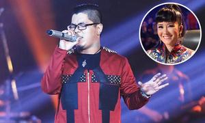 Hồng Nhung khen Tuấn Khanh hát hay hơn mình