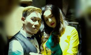 Phạm Văn Mách đóng phim với Đinh Ngọc Diệp
