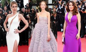10 xu hướng được mỹ nhân Cannes 2015 lăng xê