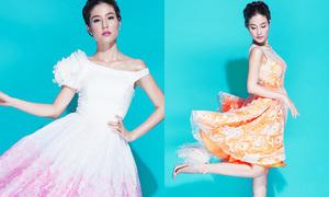 Diễm My 9X gợi ý các kiểu váy công chúa