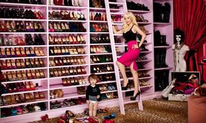 Những tủ giày 'triệu đô' của sao Hollywood
