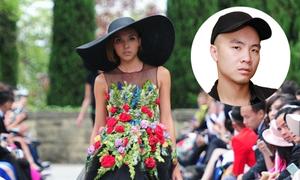 Váy bị chê 'nhái' của Đỗ Mạnh Cường bán giá 100 triệu đồng