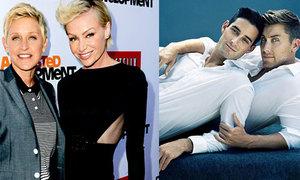 Những cặp sao đồng giới nổi tiếng của Hollywood