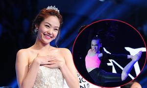 Minh Hằng dùng nhan sắc dụ thí sinh 'Bước nhảy Hoàn vũ nhí'