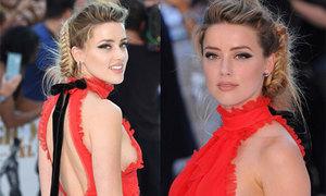 Vợ Johnny Depp khoe lưng trần trên thảm đỏ