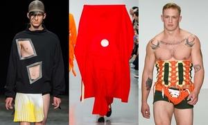 Những thiết kế gây sốc ở Tuần thời trang nam