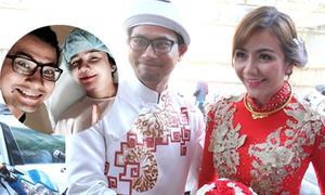 Vợ Huỳnh Đông sinh con trai đầu lòng