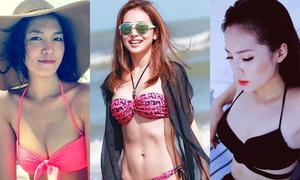 Khoảnh khắc bikini của các Hoa hậu Việt