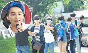 Fan Sơn Tùng M-TP bị bịt mắt khi tham gia buổi ra mắt ca khúc mới