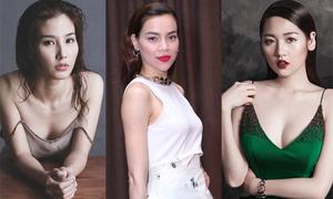 Sao Việt tăng vẻ gợi cảm với mốt tóc ướt