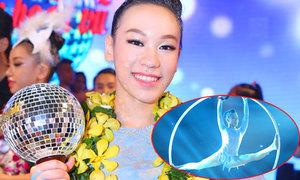 Bé gái nhào lộn trên không đoạt giải nhất Bước nhảy Hoàn vũ nhí