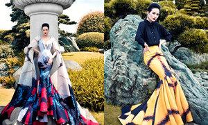 Hoa hậu Đông Nam Á 2014 khoe dáng trong váy đuôi cá