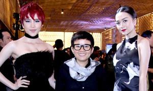 Nhạc sĩ Phương Uyên đi xem thời trang cùng bạn gái