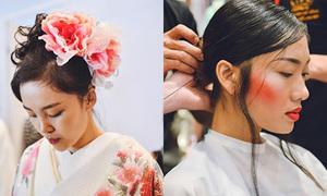Bốn phong cách trang điểm ở Tuần thời trang Quốc tế VN