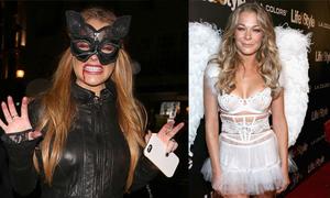 Sao Hollywood hóa trang mừng Halloween